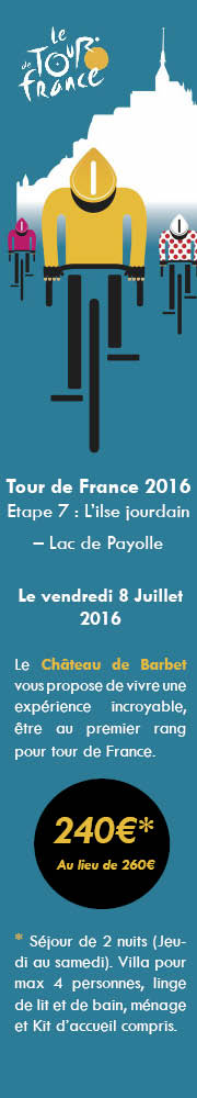 tour de france chateau de barbet